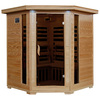 Radiant 75-in H x 59-in W x 59-in D Hemlock Fir Wood Sauna
