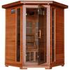 Radiance 75-in H x 53-in W x 53-in D Western Cedar Sauna