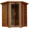 Radiant 75-in H x 59-in W x 59-in D Western Cedar Sauna