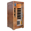 Majestic 75-in H x 36-in W x 36-in D Hemlock Fir Wood Sauna