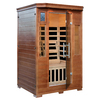 Majestic 75-in H x 39-in W x 49-in D Hemlock Fir Wood Sauna