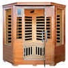 Majestic 75-in H x 55-in W x 55-in D Hemlock Fir Wood Sauna