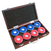Hathaway 8-Pack Shuffleboard Puck Case Included