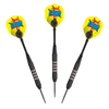 Hathaway Kaboom 3-Set Yellow Steel Tip Darts