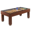 Hathaway Ricochet 84-in Manual Freestanding Shuffleboard Table