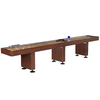 Hathaway Challenger 14-ft Manual Freestanding Shuffleboard Table