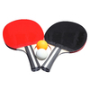 Hathaway Wood Flared-Handle Ping Pong Paddles
