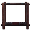Hathaway Classic 28.2-in Brown Pool Cue Rack