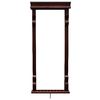 Hathaway Vintage 59.5-in Brown Pool Cue Rack