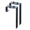 Mayne 2-Pack 5.75-in Steel Window Box Brackets