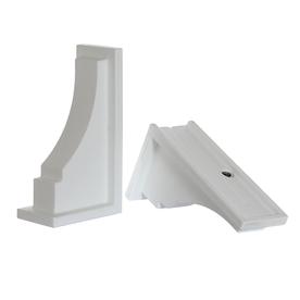 Mayne 2-Pack 11-in Plastic Window Box Brackets