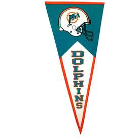 Winning Streak 41-in x 18-in Miami Dolphins Pennant