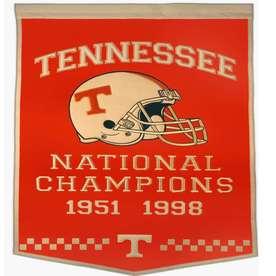 Winning Streak 38-in x 24-in Tennessee Volunteers Banner