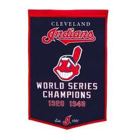 Winning Streak 38-in x 24-in Cleveland Indians Banner