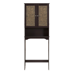 Shop Elegant Home Fashions Benjamin Space Saver Dark