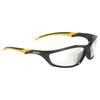 DEWALT Black Plastic Frame with Clear Lens Safety Glasses