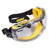DEWALT Concealer Safety Goggle Clear Anti-Fog Lens