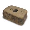 allen + roth Luxora 16-in L x 6-in H Tan Brown Country Manor Retaining Wall Block (Actuals 16-in L x 6-in H)
