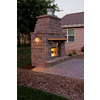 allen + roth Steel-Stainless Outdoor Vented Wood-Burning Fireplace Insert