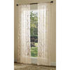 allen + roth 84-in L Ivory Bristol Sheer Curtain