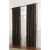 allen + roth Belleville 84-in L Room Darkening Solid Chocolate Thermal Back Tab Window Curtain Panel