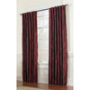 allen + roth Belleville 95-in L Solid Wine Thermal Back Tab Curtain Panel