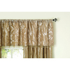 allen + roth 20-in L Sand Belleville Tailored Valance