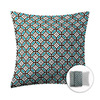 Style Selections 16-in W x 16-in L Chocolate Square Accent Pillow Cover
