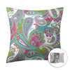 Style Selections 16-in W x 16-in L Pink Square Accent Pillow Cover