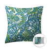 Style Selections 16-in W x 16-in L Aqua Square Accent Pillow Cover