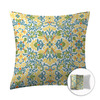 Style Selections 16-in W x 16-in L Yellow Square Accent Pillow Cover