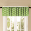Style Selections 52-in L Thermal Citron Tailored Valance