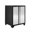 NewAge Products Pro Stainless Steel 28-in W x 36-in H x 24-in D Steel Freestanding or Wall-Mount Garage Cabinet