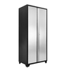 NewAge Products Pro 36-in W x 84-in H x 24-in D Stainless Steel Full Storage Lockers