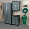 Blue Hawk 72-in H x 56-in W x 16-in D Metal Garage Cabinet