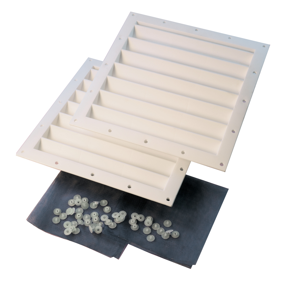 ... ShelterLogic White Polyurethane Storage Shed Vent Kit at Lowes.com
