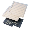 ShelterLogic White Polyurethane Storage Shed Vent Kit