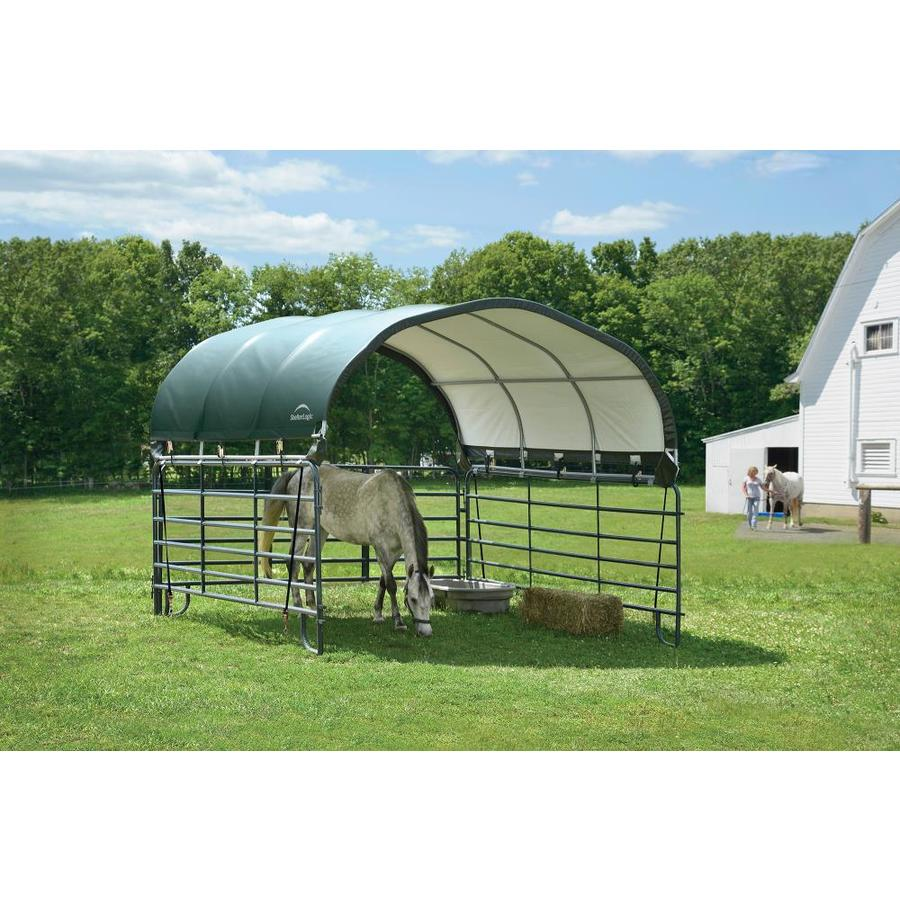 Livestock ShelterLogic 12/' x 12/' Equine and Agricultural Corral Shelter