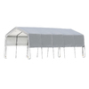 ShelterLogic 12   20 Peak Style Storage Shelter