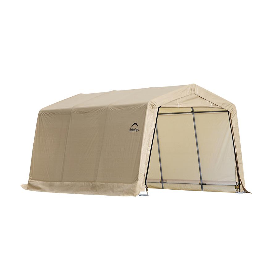 Shop ShelterLogic 10 x 15 Vehicle Storage Shelter at Lowes.com