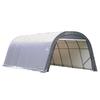 ShelterLogic Metal Single Car Garage Building (Common: 12-ft x 20-ft; Actual: 12-ft x 20-ft)