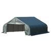ShelterLogic Metal 2-Car Garage Building (Common: 22-ft x 20-ft; Actual: 22-ft x 20-ft)