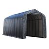 ShelterLogic Metal Single Car Garage Building (Common: 15-ft x 36-ft; Actual: 15-ft x 36-ft)