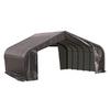 ShelterLogic Metal 2-Car Garage Building (Common: 22-ft x 24-ft; Actual: 22-ft x 24-ft)