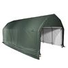ShelterLogic Metal Single Car Garage Building (Common: 12-ft x 24-ft; Actual: 12-ft x 24-ft)