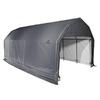 ShelterLogic Metal Single Car Garage Building (Common: 12-ft x 28-ft; Actual: 12-ft x 28-ft)
