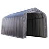 ShelterLogic Metal Single Car Garage Building (Common: 15-ft x 40-ft; Actual: 15-ft x 40-ft)