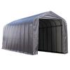 ShelterLogic Metal Single Car Garage Building (Common: 15-ft x 44-ft; Actual: 15-ft x 44-ft)