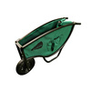 Narrow Barrow Green 5 Cu. Ft. Lightweight Folding Wheelbarrow