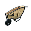 Narrow Barrow Khaki 5-cu ft Lightweight Folding Wheelbarrow